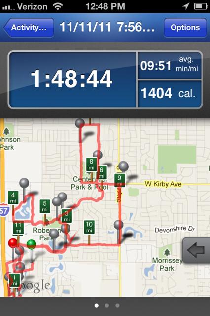 11 Miles on 11/11/11