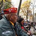Navajo Code Talkers at the Veterans Day Opening Ceremony in Madison Square Park. Photo by Jared King / NNWO.  This Navajo Nation Washington Office photograph is being made available only for publication by news organizations and/or for personal use printing by the subject(s) of the photograph. The photograph may not be manipulated in any way and may not be used in commercial or political materials, advertisements, emails, products, promotions that in any way suggests approval or endorsement of Navajo Nation President Ben Shelly or Vice President Rex Lee Jim.