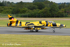 J-4206 [HB-RVV] - Hunter Mk.58 [Swiss Hunter Team] (pix42day) Tags: uk hunter glos fairford riat 2011 hbrvv j4206 huntermk58 swisshunterteam royalinternationalairtatoo2011