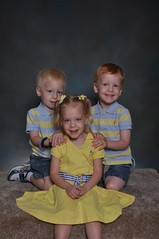 11-kdtgov2 121 (drjeeeol) Tags: pictures school brothers sister katie siblings charlie will multiples daycare triplets toddlers schoolpictures 2011 36monthsold