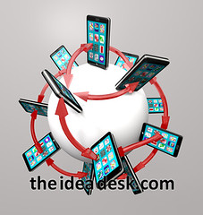Smart Phones and Apps Global Communication Network (The Idea Desk) Tags: world smart promotion mobile retail illustration advertising marketing store 3d globe graphics technology message phone graphic market sale illustrated application advertisement communication international smartphone sphere commercial software download arrows networking around merchandise network marketplace connected programs messages promotional purchase consumerism connection app phones telecom mobility communicate apps applications connections advertise telecommunications purchasing downloading smartphones