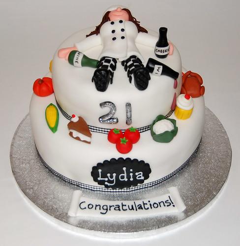 Pleasant Drunken Chef Cake Beautiful Birthday Cakes Personalised Birthday Cards Petedlily Jamesorg