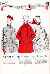 Carson Pirie Scott & Co - Vintage 1950's CollegeTown Clothing Catalogue (Naomi no Kimono Asobi) Tags: college fashion vintage carson scott shoes university dress hats illustrations skirt full 1950s co catalogue 1950 wiggle pirie