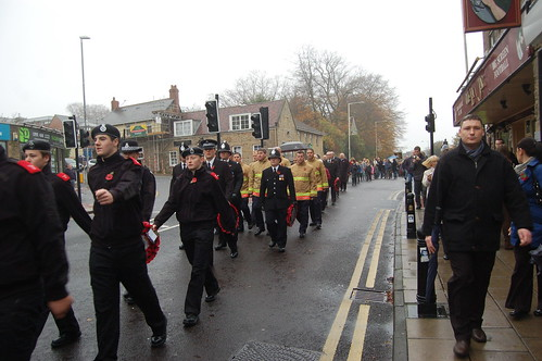 Remembrance Day Whickham Nov 11 8