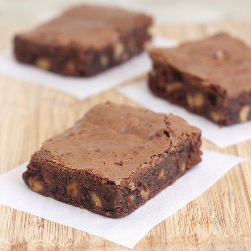 TWD: Chocolate Peanut Butter Brownies