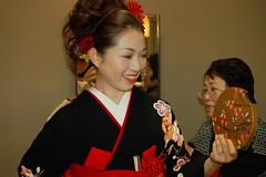 Naomi (Mongwau) Tags: wedding japan japanese hotel bride naomi  kimono obi yamanashi  kofu  tokiwa