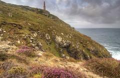 Cape Cornwall (esslingerphoto.com (Off to the Dolomites)) Tags: sea west heather celtic capecornwall