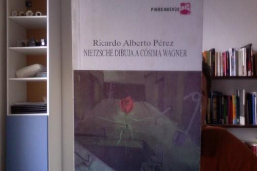 Nietzsche dibuja a Cósima Wagner