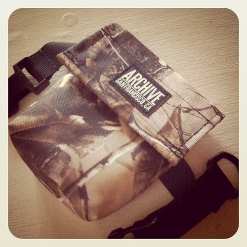 Realtree Camo Saddlebag by Archive Victor