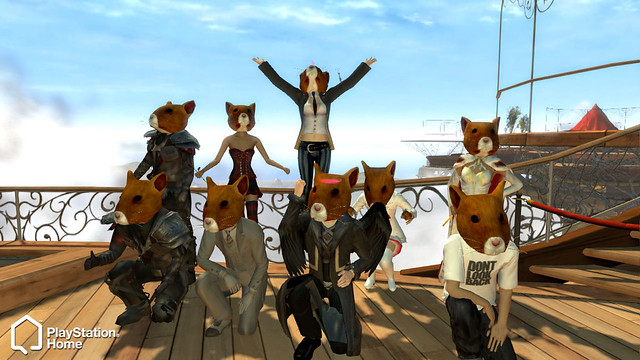 PlayStation Home: Hammies