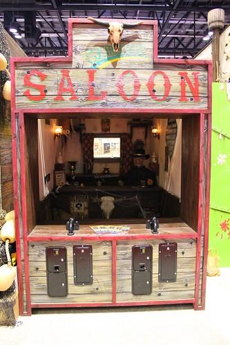 Saloon shooting gallery