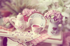 romantic high tea (creative clutters) Tags: photography design tea interior creative dream lavender romantic chic hightea shabby