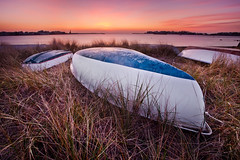 Some Boats (chris lazzery) Tags: longexposure sunrise massachusetts scituate canonef1740mmf4l 5dmarkii bw30nd
