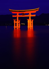 Miyajima Torii [Worldheritage] (h orihashi) Tags: japan gate shrine pentax hiroshima miyajima 日本 torii worldheritage itsukushima 広島 宮島 k7 世界遺産 blueribbonwinner 厳島 coth supershot bej anawesomeshot impressedbeauty flickraward crystalaward diamondclassphotographer flickrdiamond citrit excellentphotographerawards overtheexcellence wonderfulphotosfortheworld justpentax everydayissunday ddsnet therubyawards damniwishidtakenthat pentaxk7