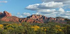 Sedona red (psyberartist) Tags: autumn red arizona mountains southwest fall landscape desert sedona mesa