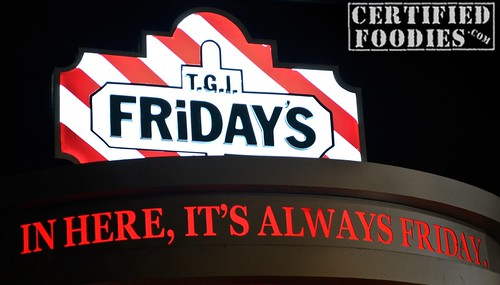 T.G.I. Friday's Sign - CertifiedFoodies.com