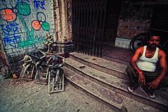 The Silent Observer (Sukanta Maikap Photography) Tags: india streetphotography diwali kolkata calcutta westbengal kalipuja dipabali kumartuli tokina1116f28 goddesskaliidols clayidolshalffinishedidols unfinishedkaliidols canon450dtokinaatxprosd1116mmf28ifdx