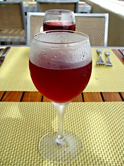 Vino Rosado (knightbefore_99) Tags: food glass mexico lunch wine south tasty mexican dreams oaxaca vin vino rosé huatulco rosado tangolunda