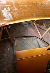 OPUS MAGNUS Engraved car doors 2012