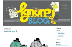 Blog is online! :) (lgnore) Tags: illustration design blog header blogspot ignore