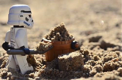 A true work for a Sandtrooper by Kalexanderson