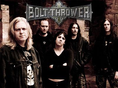 Bolt Thrower Gig listing