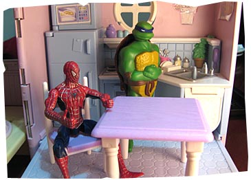 Super Heroes in the Kitchen