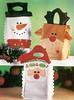 sacolas  para presente (Dona Bia) Tags: santa christmas snow natal bag navidad felt feltro bolsa rena sacola fieltro christmasbags
