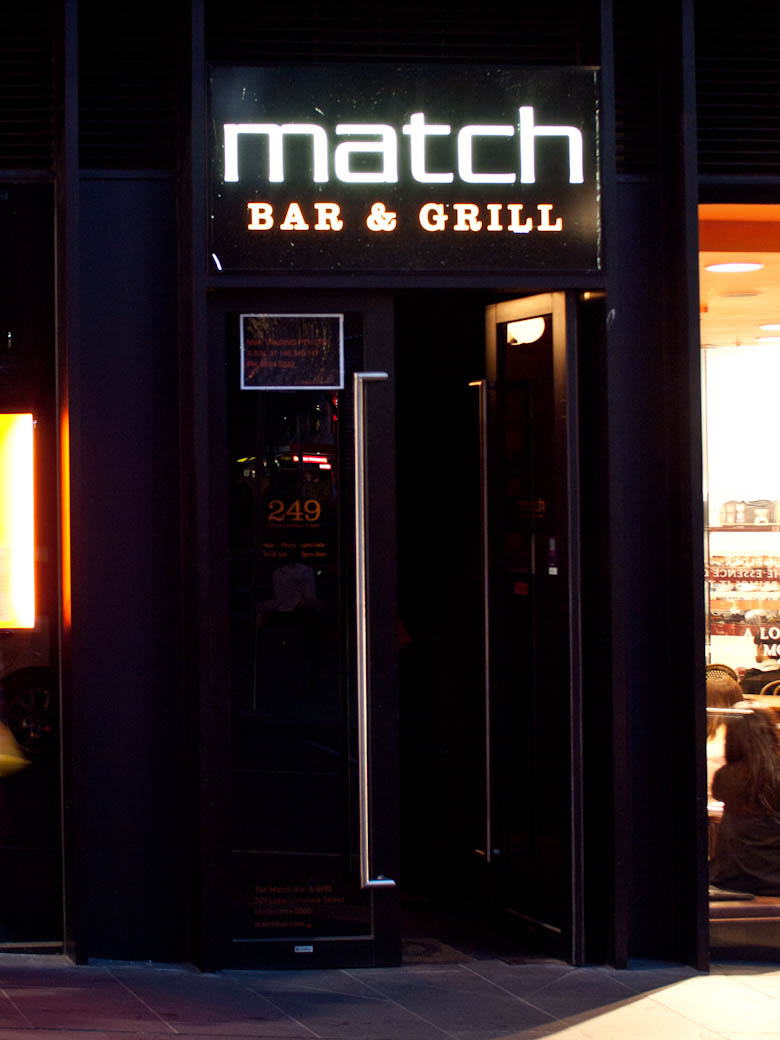 Match Bar & Grill - Outside