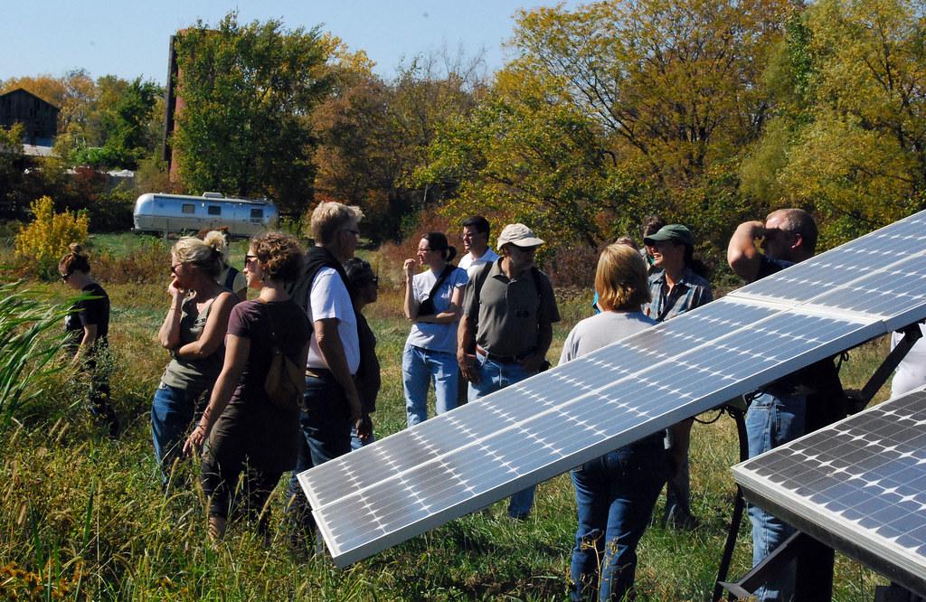 Solar-powered pump