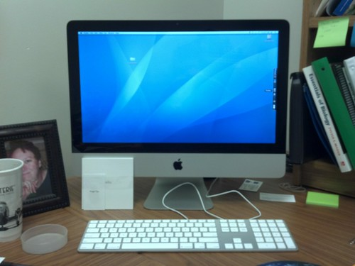 New iMac by pdecell