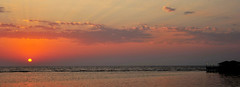 Red Sea Sunset @ Jeddah (jopalmas) Tags: sunset nature ngc jeddah redseasunset flickraward ikawaypinoy mygearandme flickrtravelaward mygearme1