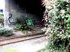 See Wakes Comos (Grimey  Trains) Tags: street canada art vancouver graffiti see bc bsr burner bomb throwup wakes comos eht