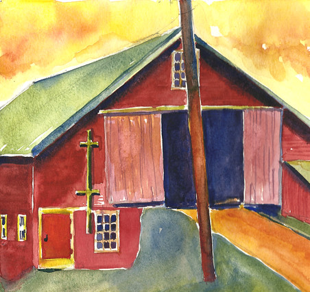 Barn color exercise