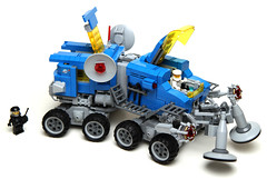 Uranium Search Vehicle 01 (cjedwards47) Tags: classic set lego space neo redux moc