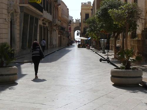 Marsala Main Shopping Street