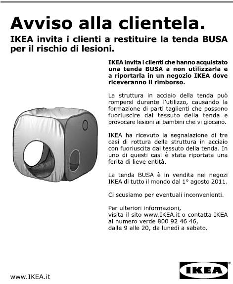 Perfect Ikea Chiede Ai Clienti Con Un Avviso A Pagamento Di Restituire Un  Suo Prodotto La Tenda Busa Per Il Rischio Di Lesioni With Tessuti Per Tende  Ikea.
