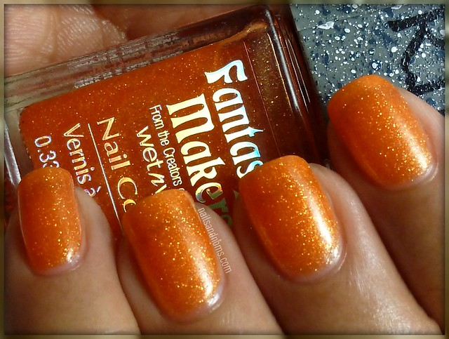 Day 2: Orange -- Wet n Wild Fantasy Makers Creepy Pumpkin