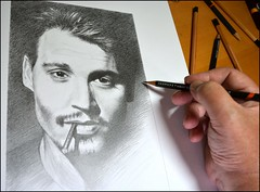 Johnny Depp 03 work in progress (pbradyart) Tags: portrait bw art pencil movie star sketch artwork drawing johnnydepp pencildrawing johnnydeppportrait moviestardrawing filmstardrawing johnnydeppdrawing johnnydepppencildrawing johnnydeppsketch