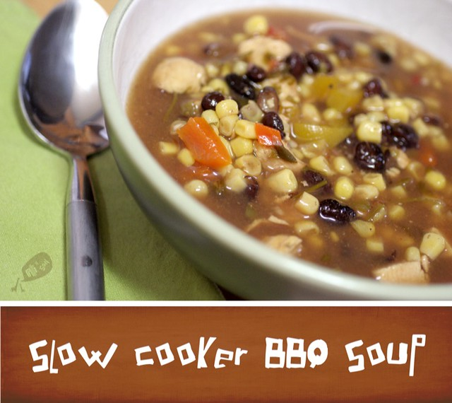 Slow Cooker BBQ Soup