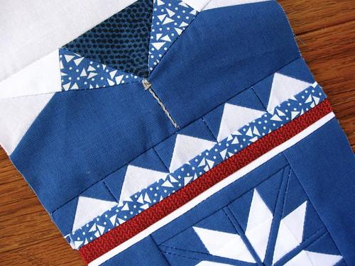 sweater block in progress