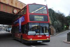 PVL166 X566EGK Volvo B7TL Plaxton President, Wandsworth (Becca1181) Tags: bus london buses ahead go
