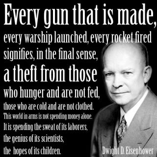 Ike Eisenhower, left of Obama and both Clintons,  would never be electa