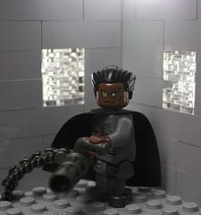 Space Zomborg (Sir Glub) Tags: cool lego zombie awesome cyborg minigun potc brickarms zomborg gibrick