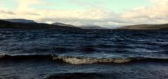 Loch Rannoch (nigelrturner) Tags: sky mountains water clouds geotagged scotland waves perthshire loch lochrannoch rannochmoor