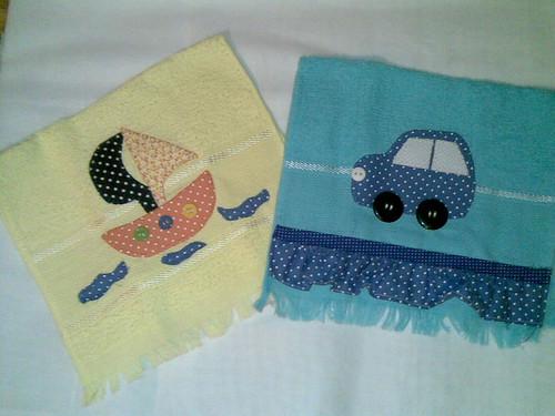 toalha de boca by Coisando as Coisas by Clau