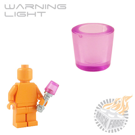 Warning Light - Trans Pink