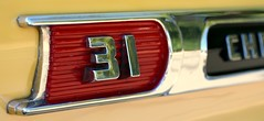 Back in the day when auto manufacturer's cared about the details. (gariphic) Tags: auto classic chevrolet car vintage emblem typography retro chevy chrome badge 31