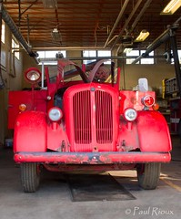 Bickle Seagrave Fire Truck G11 5394 (Organized Chrome) Tags: old classic truck canon vintage project fire rusty restored restoration apparatus bickleseagrave g11 prio