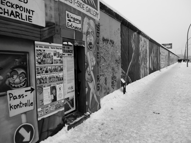 Berlin Wall on East Side Gallery